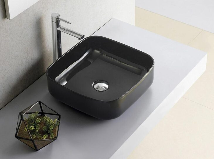 lavabo the bath collection dinan cuadrado