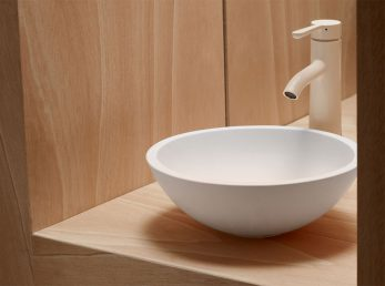 lavabo sobre encimera polaris the bath collection